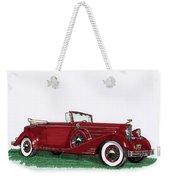 1933 Cadillac Convert Victoria Weekender Tote Bag by Jack Pumphrey