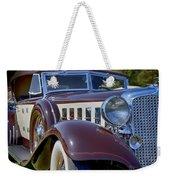 1933 Chrysler Imperial - Cl Phaeton Weekender Tote Bag
