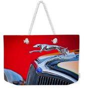 1933 Ford Hood Ornament Weekender Tote Bag
