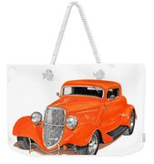 1933 Ford Three Window Coupe Weekender Tote Bag