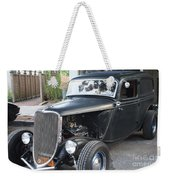 1933 Ford Two Door Sedan Front And Side View Weekender Tote Bag