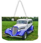 1933 Ford Vicky Weekender Tote Bag