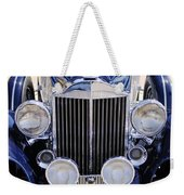 1933 Packard 12 Convertible Coupe Grille Weekender Tote Bag