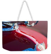 1933 Pontiac Hood Ornament 3 Weekender Tote Bag