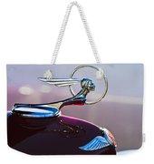 1933 Pontiac Hood Ornament Weekender Tote Bag
