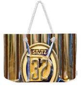 1933 Stutz Dv-32 Five Passenger Sedan Emblem Weekender Tote Bag