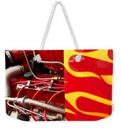 Hot Rod Art Work And Engine Weekender Tote Bag