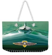 1934 Dodge Hood Ornament Emblem Weekender Tote Bag by Jill Reger