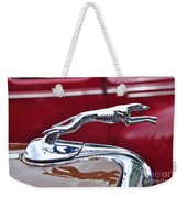 1934 Ford 6 Wheel Equip Hood Ornament Weekender Tote Bag