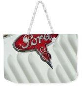1934 Ford Emblem Weekender Tote Bag
