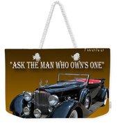 1934 Packard Weekender Tote Bag