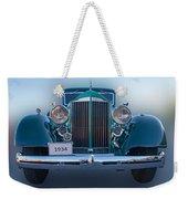 1934 Packard Super 8 Weekender Tote Bag