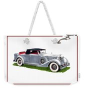 1934 Packard Twelve 1107 Coupe Weekender Tote Bag