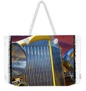 1934 Packard With  Brush Frame Weekender Tote Bag