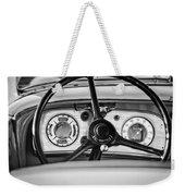 1935 Auburn 851 Supercharged Boattail Speedster Steering Wheel -0862bw Weekender Tote Bag