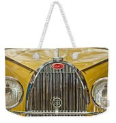 1935 Bugatti Type 57 Roadster Grille Weekender Tote Bag by Jill Reger