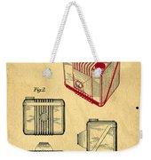 1935 Kodak Camera Casing Patent Weekender Tote Bag