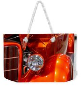 1935 Orange Ford-front View Weekender Tote Bag