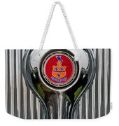 1935 Pierce-arrow 845 Coupe Emblem Weekender Tote Bag