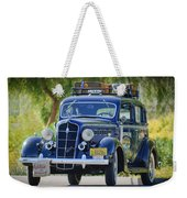1935 Plymouth Taxi Cab Weekender Tote Bag