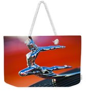 1935 Pontiac Sedan Hood Ornament 2 Weekender Tote Bag
