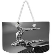 1935 Pontiac Sedan Hood Ornament 4 Weekender Tote Bag