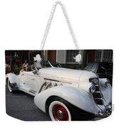 1936 Auburn Super Charger Weekender Tote Bag