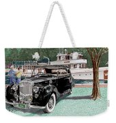 Bentley Waving To Malibu Weekender Tote Bag