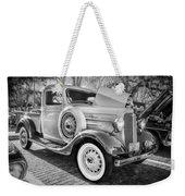 1936 Chevrolet Pick Up Truck Painted Bw   Weekender Tote Bag