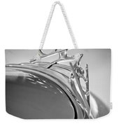 1936 Ford Deluxe Roadster Hood Ornament 2 Weekender Tote Bag