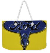 1936 Ford Pickup Emblem Weekender Tote Bag