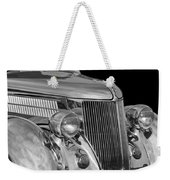1936 Ford - Stainless Steel Body Weekender Tote Bag by Jill Reger