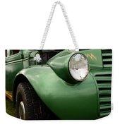 1936 Funeral Truck Headlight Weekender Tote Bag