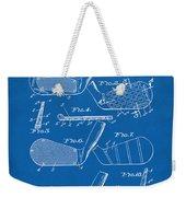 1936 Golf Club Patent Blueprint Weekender Tote Bag
