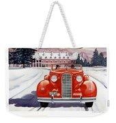 1936 - Lasalle Convertible Automobile Advertisement - Color Weekender Tote Bag