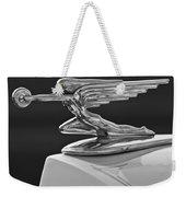 1936 Packard Hood Ornament 3 Weekender Tote Bag by Jill Reger