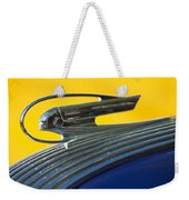 1936 Pontiac Hood Ornament 2 Weekender Tote Bag