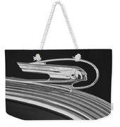 1936 Pontiac Hood Ornament 5 Weekender Tote Bag by Jill Reger