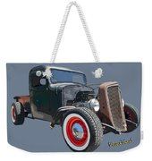 1936 Rat Rod Chevy Pickup Weekender Tote Bag