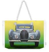 1937 Bugatti 57 S C Atalante Weekender Tote Bag