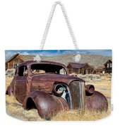 1937 Chevrolet Coupe At Bodie Weekender Tote Bag