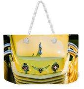 1937 Cord 812 Phaeton Grille Emblems Weekender Tote Bag