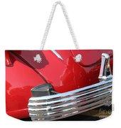1937 Desoto Chrome Bumper-7249 Weekender Tote Bag