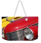1937 Desoto Front-7262 Weekender Tote Bag