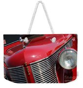 1937 Desoto Front Grill And Head Light 7285 Weekender Tote Bag