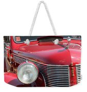 1937 Desoto Front Grill And Head Light-7289 Weekender Tote Bag