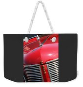 1937 Desoto Front Grill Weekender Tote Bag