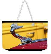 1937 Desoto Hood Ornament-7277 Weekender Tote Bag