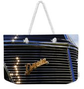 1937 Ford Model 78 Cabriolet Convertible By Darrin Weekender Tote Bag