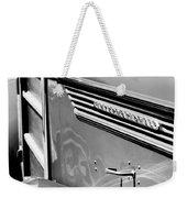 1937 International D-2 Station Wagon Side Emblem Weekender Tote Bag